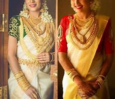 kerala bride in simple traditional kerala wedding jewellery sets traditional malayali