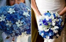 forget me nots bouquet with white orchids with baby s