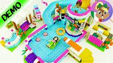 lego friends piscina all aperto con vasca idromassaggio