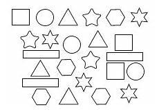 Malvorlagen Einfache Formen Geometrische Formen Vorlagen Zum Ausdrucken Ausmalen
