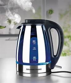 led wasserkocher gourmetmaxx wasserkocher glas led 1 7 l 2000 w otto