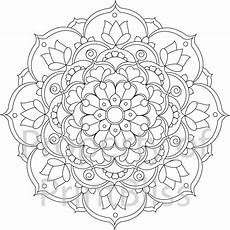mandala coloring pages flowers 17908 24 flower mandala printable coloring page