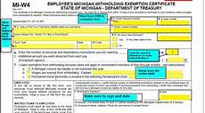 michigan w 4 form and instructions for nonresident aliens university of michigan finance