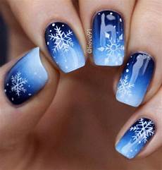 20 winter snowflakes nail art designs ideas 2018