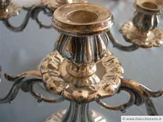 candelieri antichi candelieri antichi argento 800