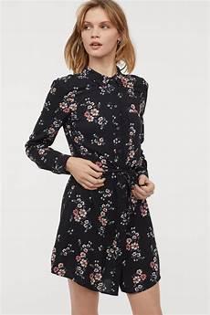 H Und M Kleid - h m shirt dress most flattering dresses popsugar