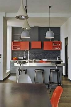 cuisine grise lustre gris modele de cuisine