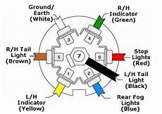 7 Pin Wiring Diagram Ford Tractor by Trailer Caravan Wiring Lights Etc 7 Pin Plastic 12n Black