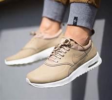 nike air max thea premium womens desert camo string sail shoes uk