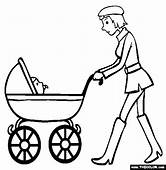 Baby Coloring Pages  For Girls 50 Free
