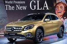 Mercedes Gla Facelift 2017 Vorstellung Bilder