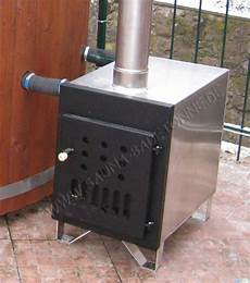 External Tub Stove 40kw Wooden Tubs And Barrel