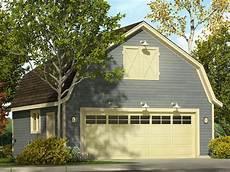 Gambrel Apartment Garage Plans by 2 Car Garage Plans Two Car Garage Plan With Gambrel Roof