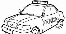 Ausmalbilder Polizeiauto Page Car Coloring Pages Printable