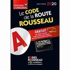 Code Rousseau De La Route B 2020 Broch 233 Collectif