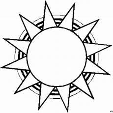 Sterne Malvorlagen Gratis Sonne Mit Spitzen Zacken Ausmalbild Malvorlage Sonne