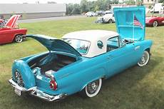1956 Ford Thunderbird The Mid Model Of The Two Seat T