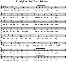 music a la abbott rudolph the red nosed reindeer grade 4 syncopation lesson flute sheet