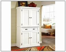White Kitchen Pantry Cabinet Lowes by White Freestanding Pantry Cabinet Home Design Ideas