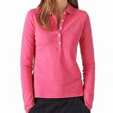 polo shirt damen lacoste poloshirt polo langarm stretch damen diverse farben
