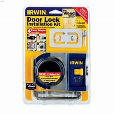 Kent Ca Irwin Tools Wood Door Lock Installation Kit