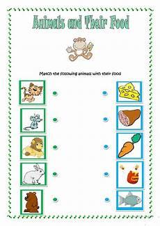 animals and their food worksheet free esl printable worksheets made by teachers