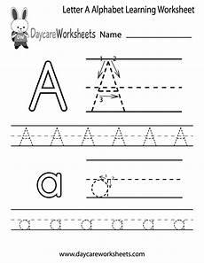 letter a tracing worksheets for kindergarten 23436 free letter a alphabet learning worksheet for preschool plus lots of other great worksheets for