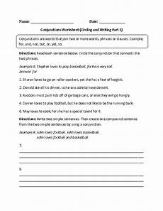 conjunction worksheets for grade 3 cbse englishlinx com conjunctions worksheets worksheets book report templates speech language