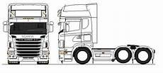kleurplaten vrachtwagen scania