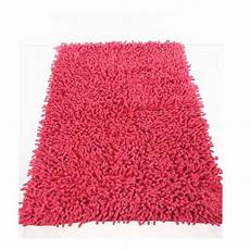 tapis framboise salon tapis de salle de bain 50x80cm framboise