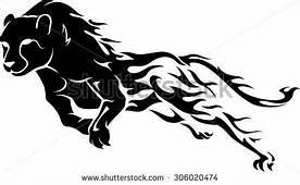 Cheetah Running Stock Vectors & Vector Clip Art
