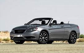2020 Chrysler 200 Convertible Release Date Specs Changes