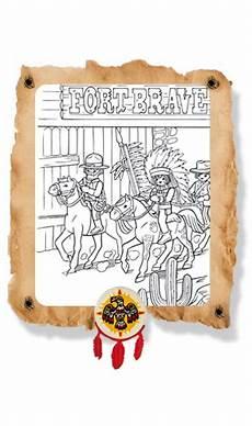 Ausmalbilder Playmobil Western Ausmalbilder