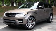2015 Range Rover Sport Supercharged Start Up Road Test