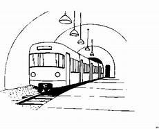 Malvorlage Zug Kostenlos Zug Im Tunnel Ausmalbild Malvorlage Die Weite Welt