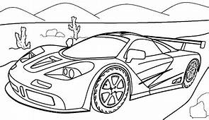 Car Coloring Pages For Adults At GetColoringscom  Free