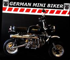 German Mini Biker - gmb skyteam st125 le mans pro gorilla quot limited edition