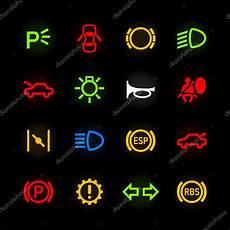 Auto Armaturenbrett Symbole Stockvektor 169 Alhovik 69938573