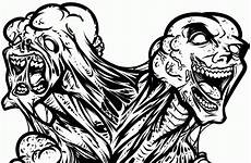 zombie printable coloring pages coloring home
