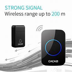 Cacazi Fa86 Self Powered Wireless Doorbell by Doorbells Intercoms Cacazi Fa12 3 Self Powered