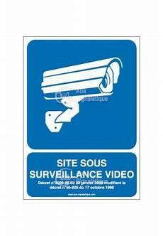 panneau site sous surveillance panneau site sous surveillance vid 233 o sur www aua signaletique