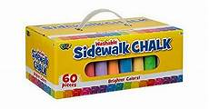 Amazon Com Chalk City Sidewalk Chalk 20 Count Amazon Deal 60 Piece Poof Sidewalk Chalk For 5