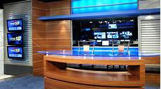 News 12 New Jersey Set Design News Sets Broadcast