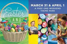 easter land free one weekend theme park indy s child
