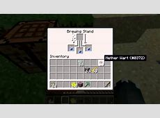 how to make breathing potion minecraft