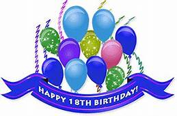 Free 18th Birthday Cliparts Download Clip Art