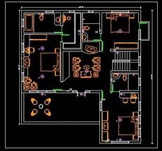 using autocad to draw house plans autocad house plan free dwg drawing download 40 x45