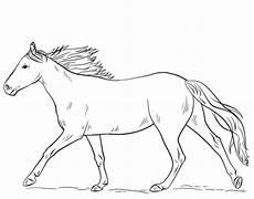 Malvorlage Pferd Umriss Malvorlage Galoppierendes Pferd Tiffanylovesbooks