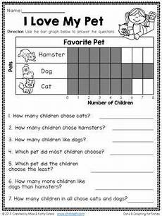 data and graphing for first grade graphing first grade 1st grade math teaching math