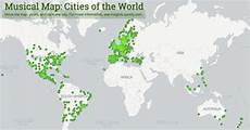 carte du monde en liège spotify publie une carte mondiale des go 251 ts musicaux l